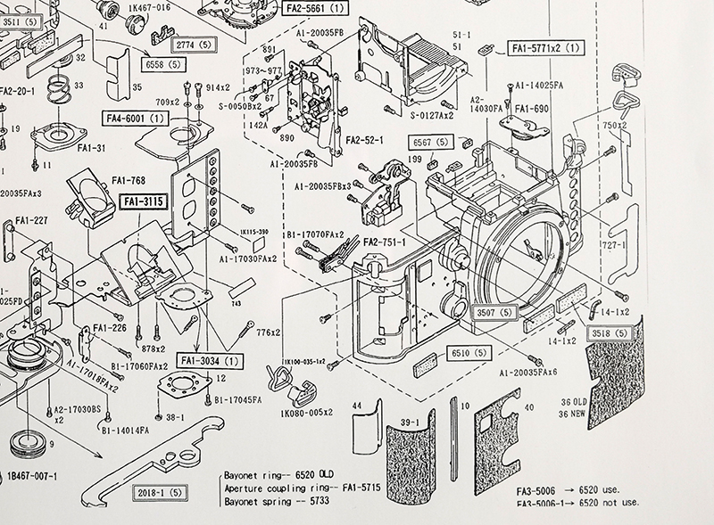 Nikon F3 P Parts Diagram 4 nikon f3 p camera parts diagram nikon rumors