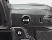 Nikon Vibration Reduction functionality when using AF-ON 2