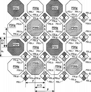 Nikon honeycomb sensor patent