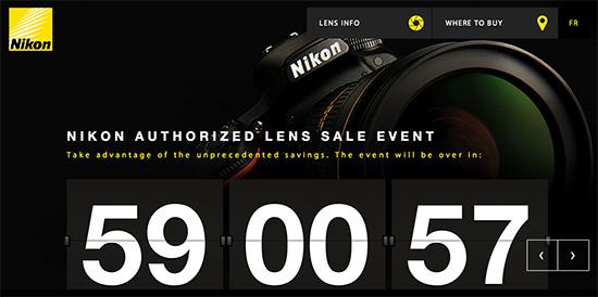 Nikon-lens-rebates-Canada