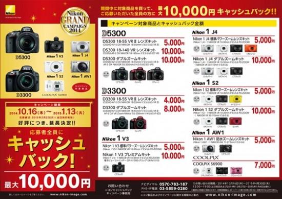 First Nikon 1 V3 price drop in Japan