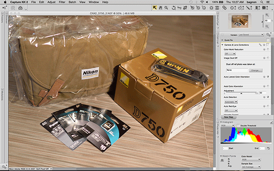 Nikon Raw Converter - фото 4