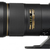 Pictured: the current Nikon AF-S 300mm f/4D IF-ED lens