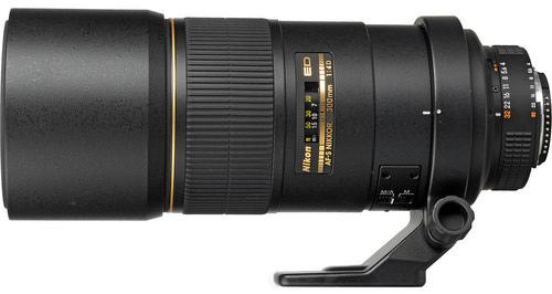Pictured: the current Nikon AF-S 300mm f/4D IF-ED lens