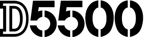 Nikon-D5500-camera-logo