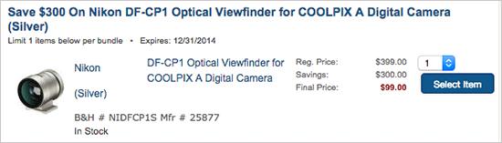 Nikon-DF-CP1-Optical-Viewfinder