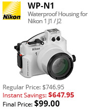 Nikon WP-N1 waterproof housing instant savings