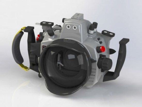 Subal underwater housing for Nikon D750 camera
