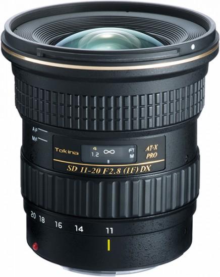 Tokina AT-X 11-20mm f:2.8 PRO DX lens