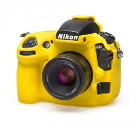 easyCover Nikon D810 yellow camera front 2