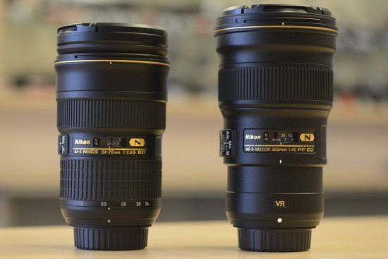 Nikkor 300mm f-4E PF ED VR lens 11