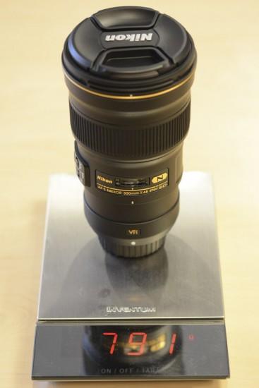 Nikkor 300mm f-4E PF ED VR lens 13