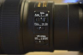 Nikkor 300mm f-4E PF ED VR lens 7