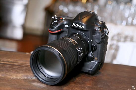 Nikkor 300mm f:4E PF ED VR lens