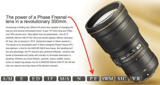 Nikkor-300mm-f4E-PF-ED-VR-with-Nikon-Phase-Fresnel-lens