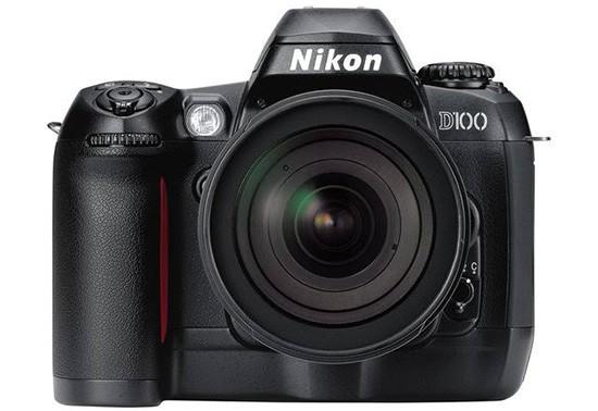 Nikon-D100-DSLR-camera