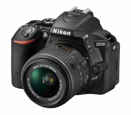 Nikon D5500 DSLR camera 2