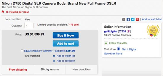 Nikon-D750-camera-sale