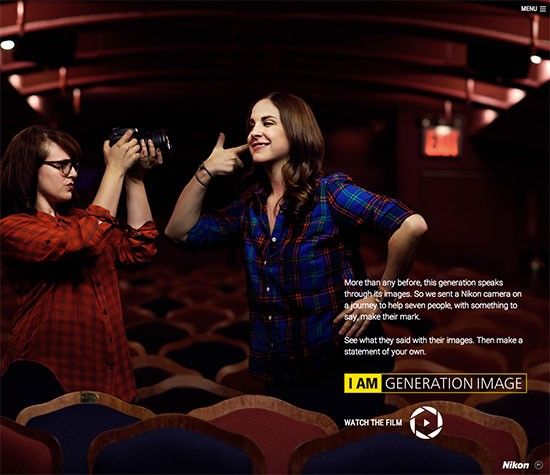 Nikon-I-am-generation-image-website