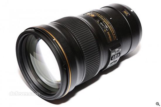 Nikon Nikkor 300mm f:4E PF ED VR lens