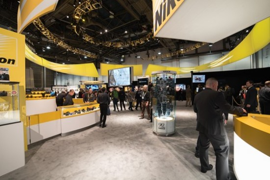 Nikon booth at CES 2015-1