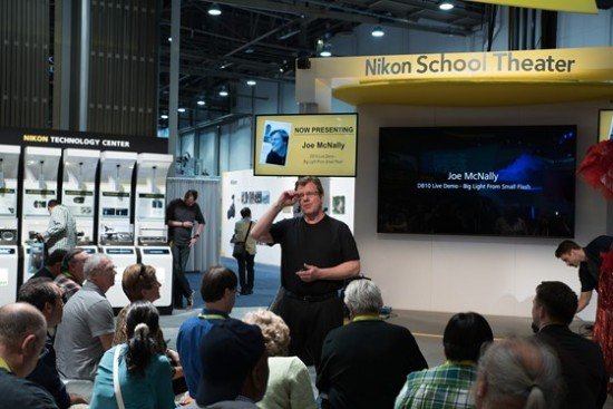Nikon booth at CES 2015-11