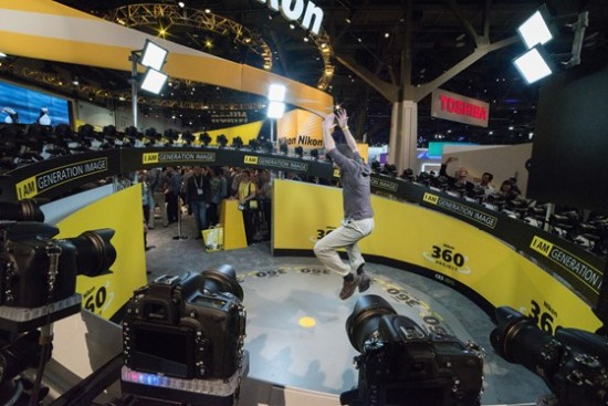 Nikon booth at CES 2015-14