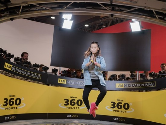 Nikon booth at CES 2015-15