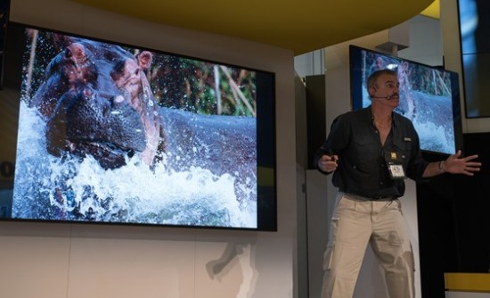 Nikon booth at CES 2015-18