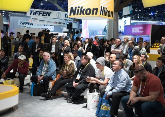 Nikon booth at CES 2015-19