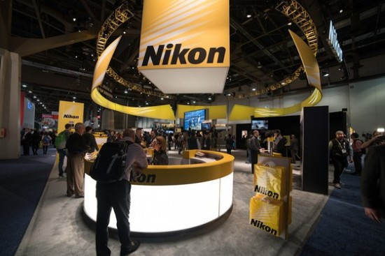 Nikon booth at CES 2015-2