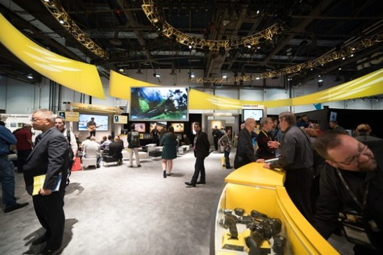 Nikon booth at CES 2015-3