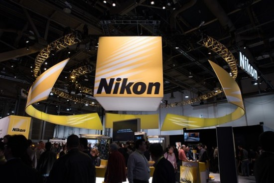 Nikon booth at CES 2015