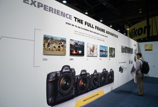 Nikon booth at CES 2015-6