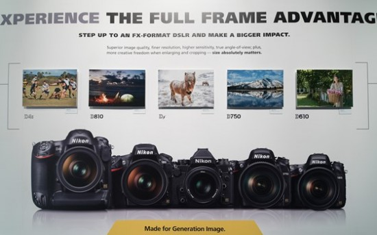 Nikon booth at CES 2015-7