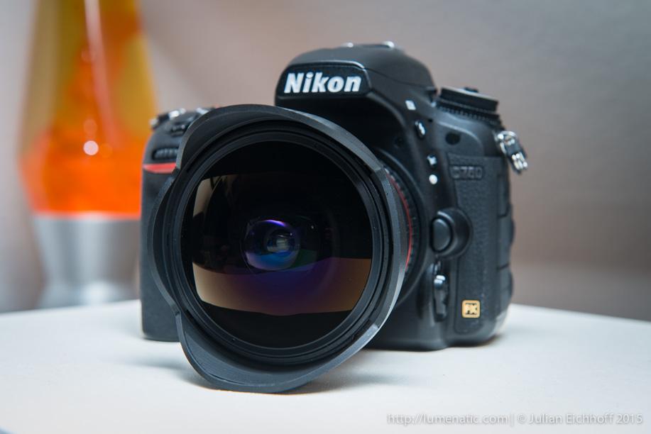 Rokinon samyang walimex 12mm f 2 8 fish eye lens review for Samyang 14mm nikon