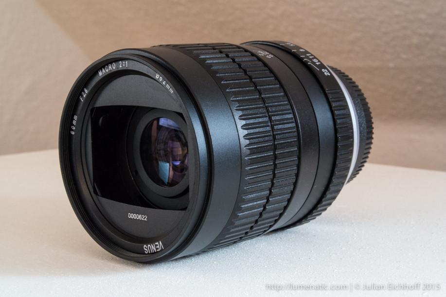 Venus 60mm f/2.8 macro 2:1 lens review