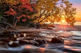 Hurricane River Sunset