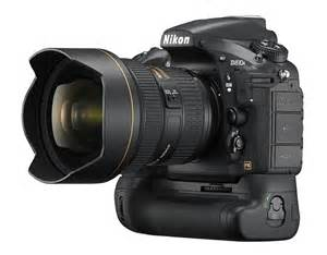 Nikon D810a DSLR camera battery grip