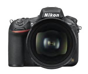 Nikon D810a DSLR camera front