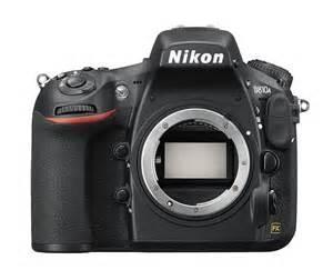 Nikon D810a DSLR camera sensor