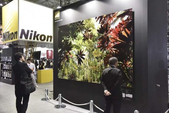 Nikon booth 2015 CP+ show Japan 1