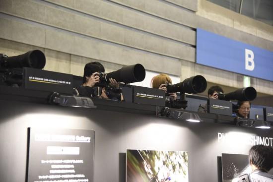 Nikon booth 2015 CP+ show Japan 6