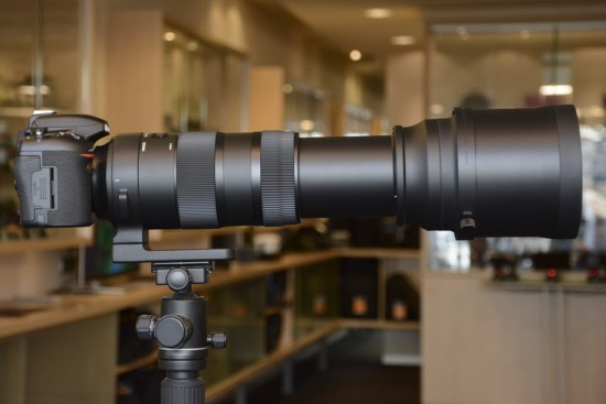 Sigma 150-600mm f-5-6.3 DG OS HSM Sports lens for Nikon 16