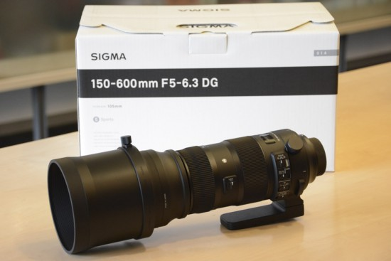 Sigma 150-600mm f-5-6.3 DG OS HSM Sports lens for Nikon 3