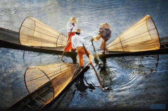 David-Lazar_Intha-Fishermen_Inle-Lake