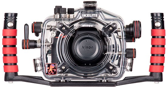 Ikelite-underwater-housing-for-Nikon-D5500-camera