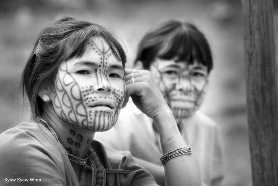 Kyaw-Kyaw-Winn_Chin-Tribal-Women_Myanmar