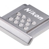 Nikon ASC-01 stainless steel hot-shoe cover