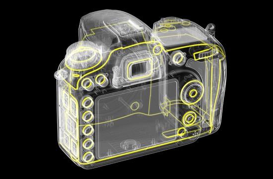 Nikon-D7200-camera-sealing